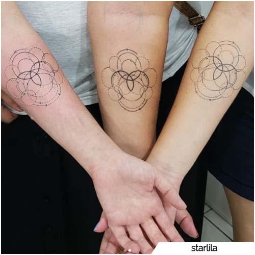 tattoo triquetra amiche