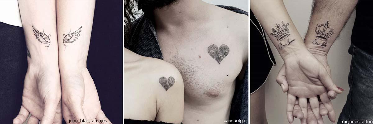 Cover tatuaggio di coppia