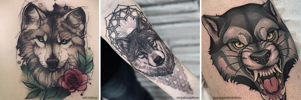 Significato Tatuaggio Lupo - Simbolismi e tante idee per i ...