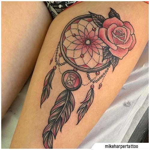 atraparsueños tatuajes pink