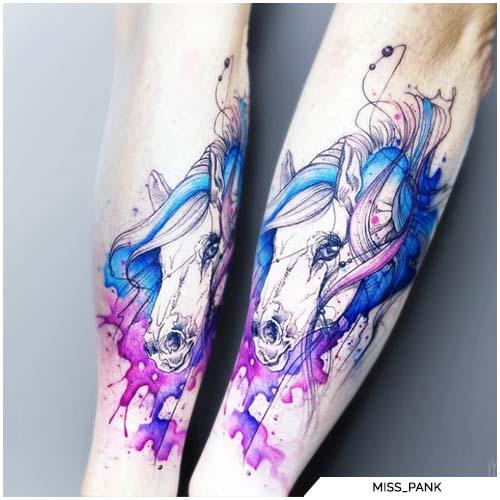 tatuaggio watercolor