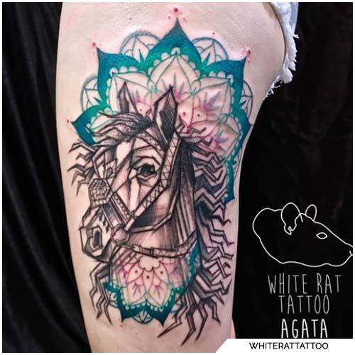 dibujar un tatuaje de caballo