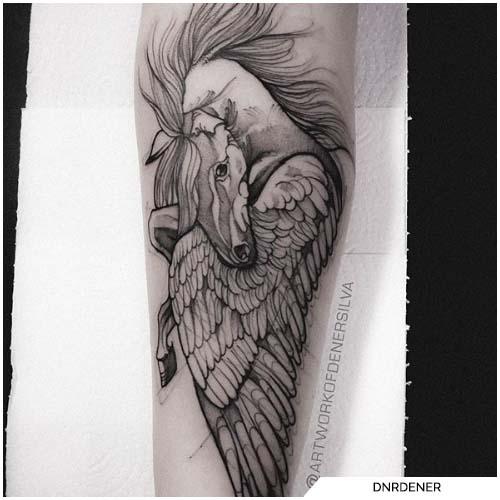 tatuaggio pegaso