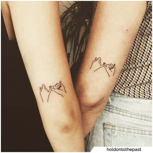 prometido tatuajes para parejas