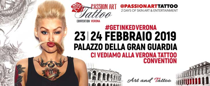 Verona Passion Art Tattoo 2019