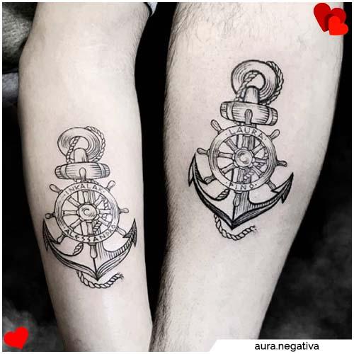 tatuajes de pareja todavía