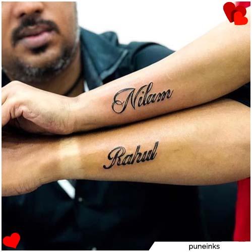 nombres de tatuajes de pareja