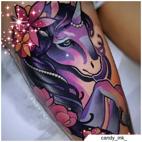 unicorno candy ink