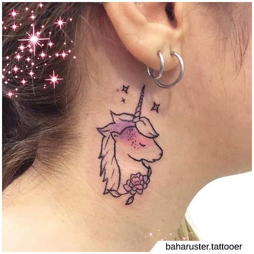 unicorno collo
