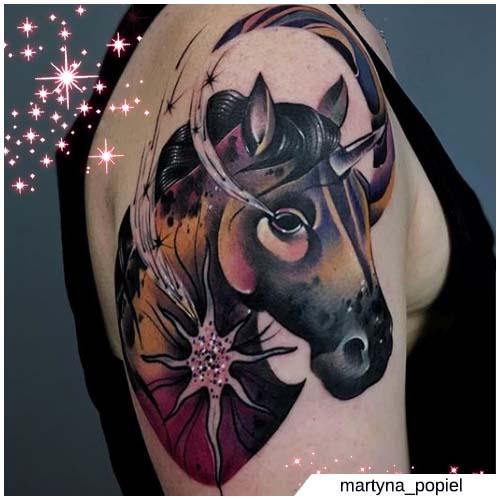 unicornio negro