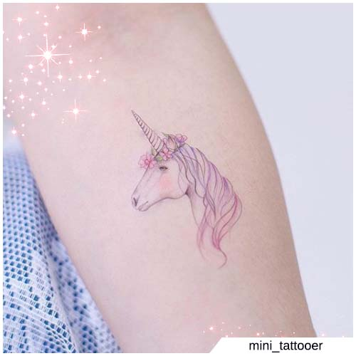 tatuaje figurativo del antebrazo