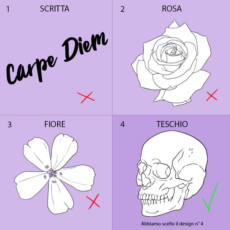 come disegnare un tatuaggio scegliere il soggetto