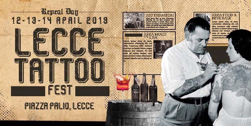 Locandina Lecce Tattoo Fest 2019
