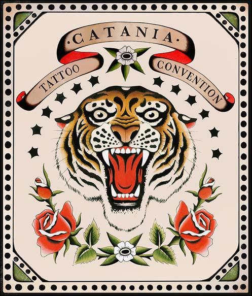Locandina Catania Tattoo Convention 2019