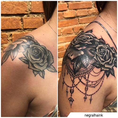 cover up spalla