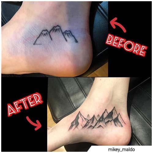 montagne rework
