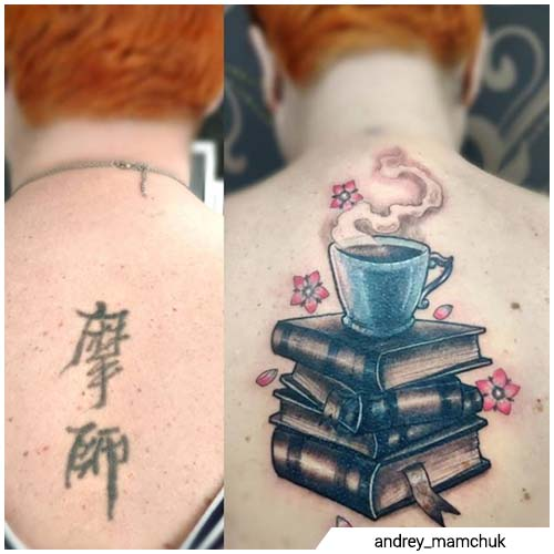 estilo japones cover up tattoo