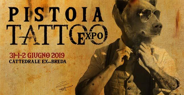 locandina pistoia tattoo expo 2019