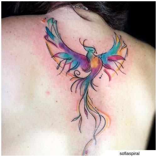 Ave Fenix Tatuaje