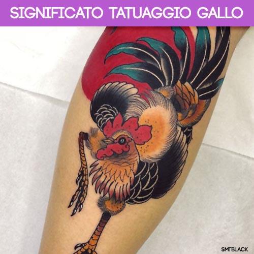significato tatuaggio gallo