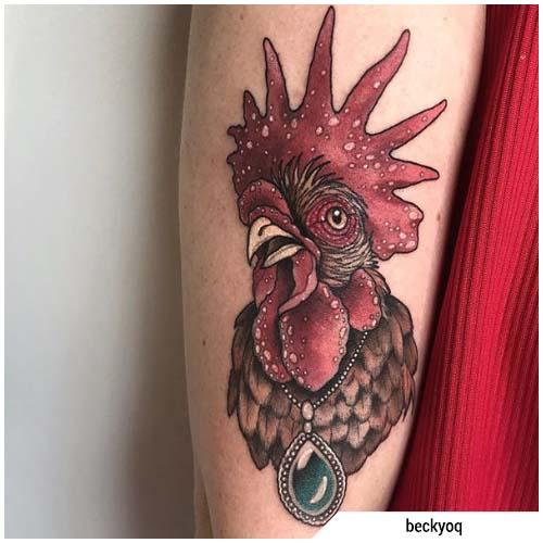 Significato tatuaggio gallo design e tante idee tattoo for Carpa koi costo