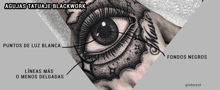 Agujas Tatuaje blackwork