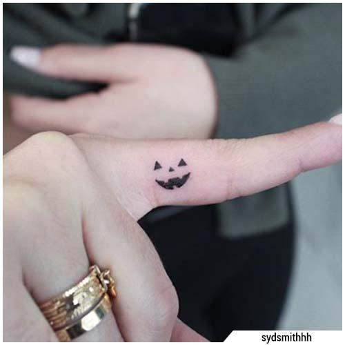 tatuaggi piccoli halloween