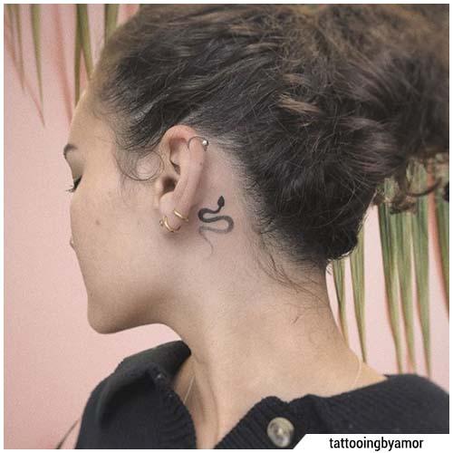tatuaggi piccoli serpente