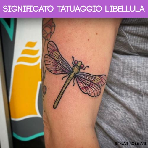 significato tatuaggio libellula