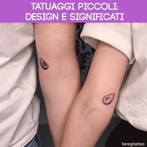 design e significati tatuaggi piccoli