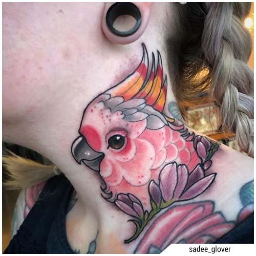 tatuaggi donna animali