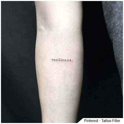 tatuaggi donna resilienza