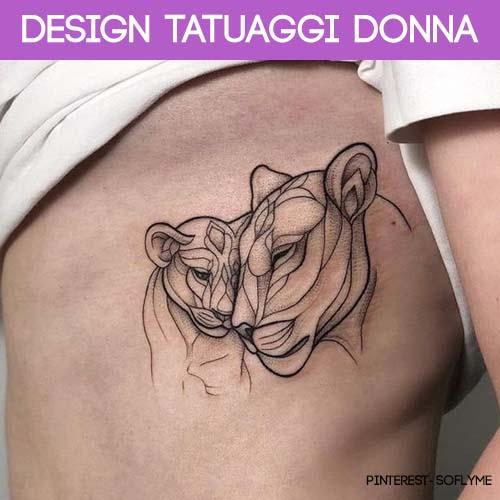 tatuaggi donna design