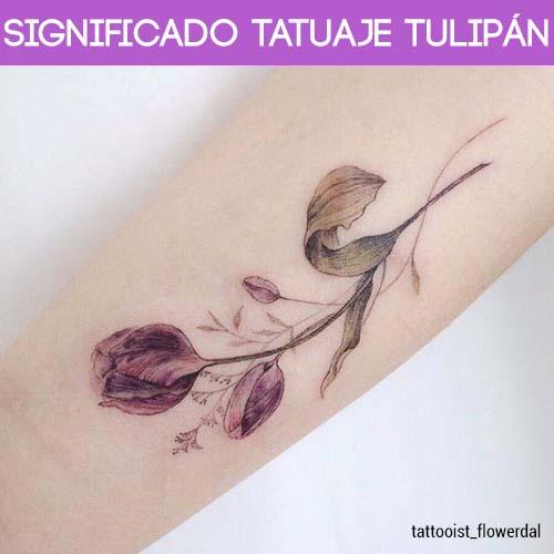 Significado Tatuaje Tulipán