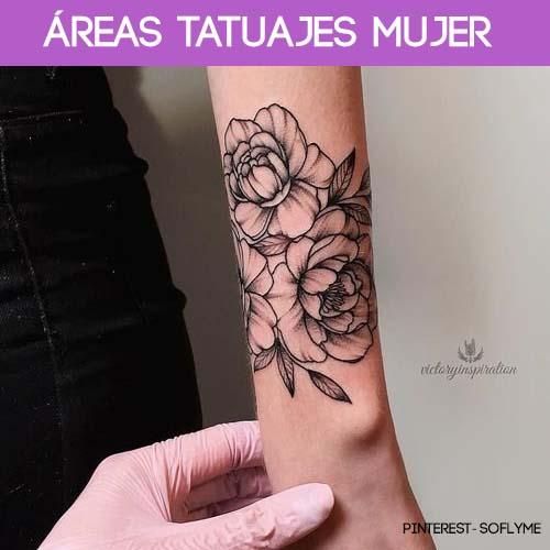 areas tatuajes mujeres