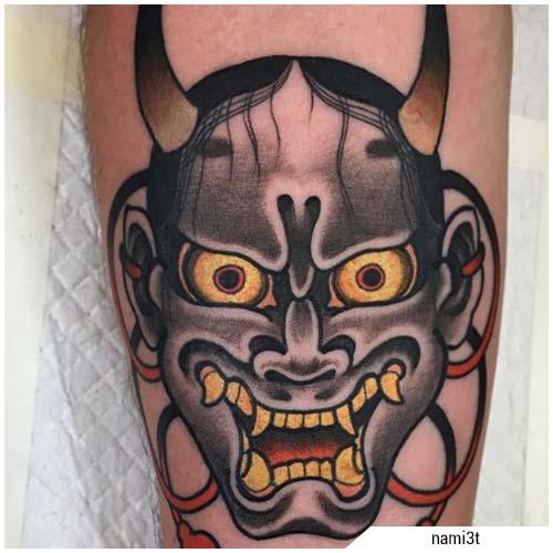 tatuajes de hombre oni