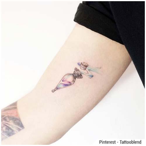 tatuaggi donna pozione