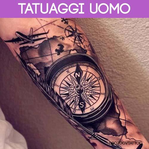 tatuaggi uomo