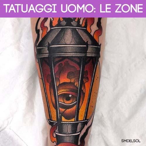 zone tatuaggi uomo