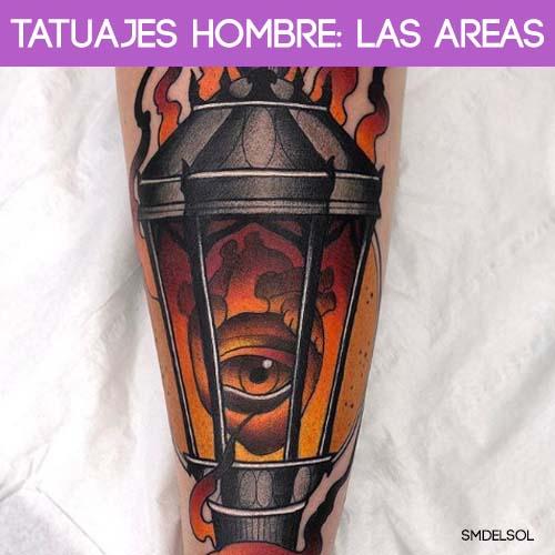 areas tatuajes hombre