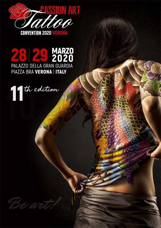 Verona Passion Art Tattoo 2020