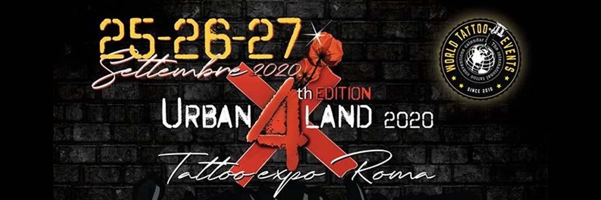 Urban Land Tattoo Expo Roma - Copertina
