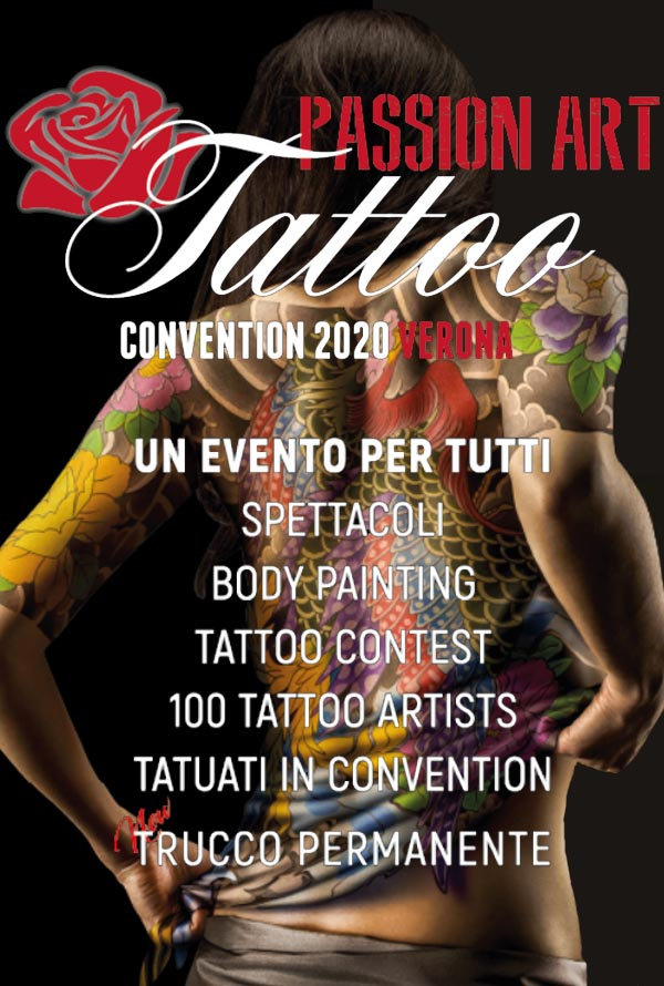 Passion Art Tattoo Convention Verona 2020